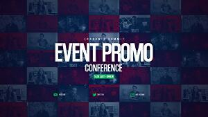 I will create dynamic event promo video