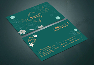 I will Design your desired  professional business card