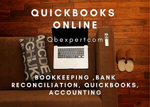 I will do bookkeeping, bank reconciliation, quickbooks, accounting