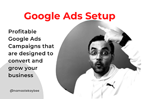 I will setup a highly effective google ads PPC search ads campaign