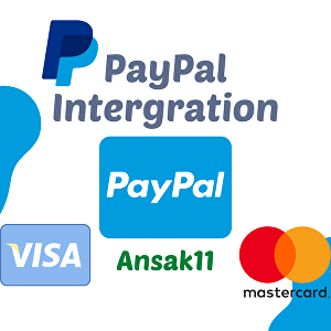 I will integrate PayPal payment system in your website