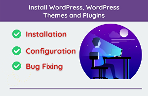I will install WordPress on your server