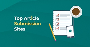I will do 10 Article Submission for SEO Ranking